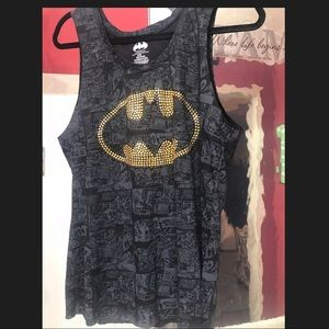 DC Batman tank, sz L